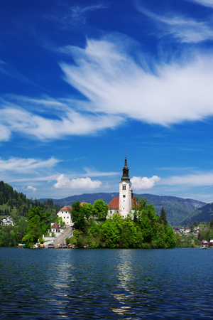karavanke: Bled is a town on Lake Bled in Slovenia. It is most notable as a popular tourist destination in the Upper Carniola region and in Slovenia as whole, attracting visitors from abroad too.
