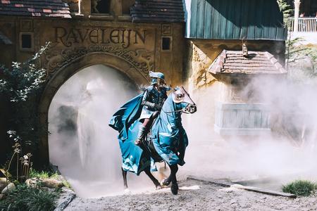 KAATSHEUVEL, PAESI BASSI - 6 MAGGIO: Parco divertimenti a tema fantasy a Efteling il 6 maggio 2017 a Kaatsheuvel, Olanda, Paesi Bassi, Europa. Archivio Fotografico - 78556504