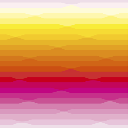 segment: Seamless pattern. Is a horizontal segment with a smooth transition of colors, from pink to yellow.