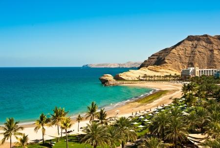 oman: Oman Coast Landscape