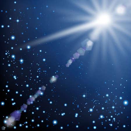 firmament: shooting star