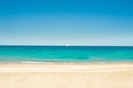 island beach: exotic vacation, on the beach