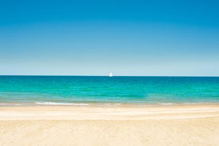 Exotischen Urlaub, am Strand Standard-Bild - 30820331