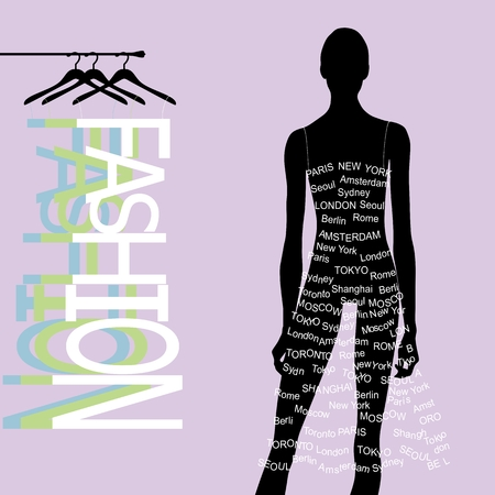 Fashion girl design Vector