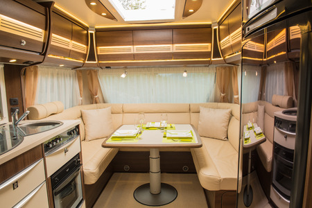 Interior Of Motorhome Stock Photo, Picture And Royalty Free Image. Image  43923555.