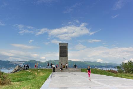 malaya: NOVOROSSIYSK, RUSSIA - MAY 08.2016: memorial Malaya Zemlya in the hero-city of Novorossiysk