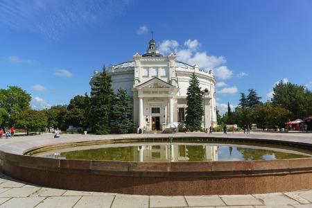 Russia, Crimea, Sevastopol - September 05.2017: the building of the panorama of the heroic defense of Sevastopol in 1854-1855
