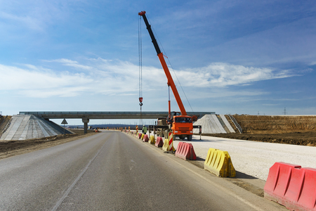 Construction of a two-level junction at the fork on bagerovo in the Crimea. New high-speed road Tavrida