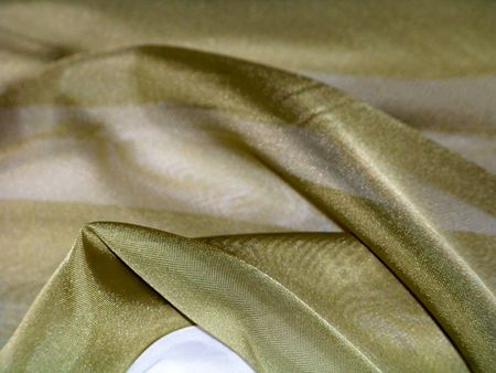 rapprochement: Close up to a silk tablecloth Stock Photo