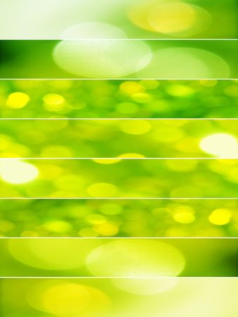 Green abstract backgrounds photo