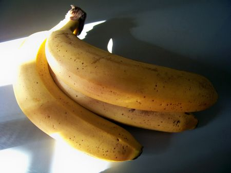 maturing: Bananas, yellow fruits