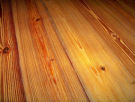 Texture of a polished wood floor Stock Photo