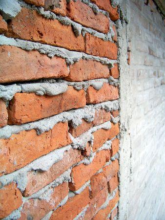 Texturas de pared de ladrillos en perspectiva Foto de archivo - 5828842