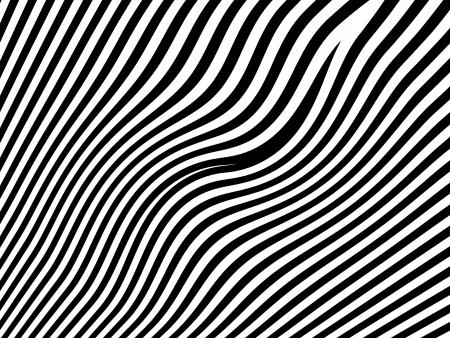 Arrière-plan de rayures zebra noir et blanc. Banque d'images - 6095927