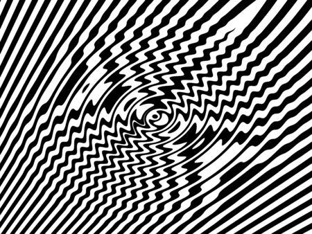 tremante: Acqua vibrazioni trama in bianco e nero Archivio Fotografico