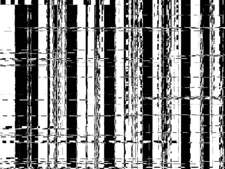 Black and white lines like bar code background Stock Photo - 6095913