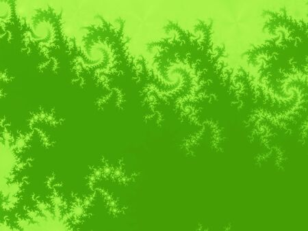 Green abstract tree branches fractal background Stock Photo - 6095907