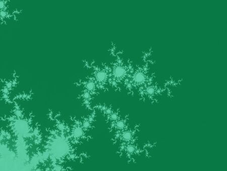 Green abstract fractal background Stock Photo - 6095889