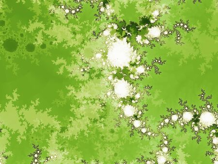 Green moss abstract landscape background Stock Photo - 6096000