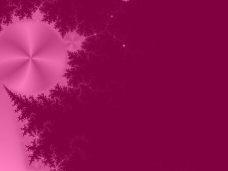 metalized: Purple and pink fractal abstract background