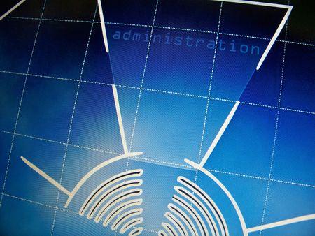 Web design computer animated Stock Photo - 6115527