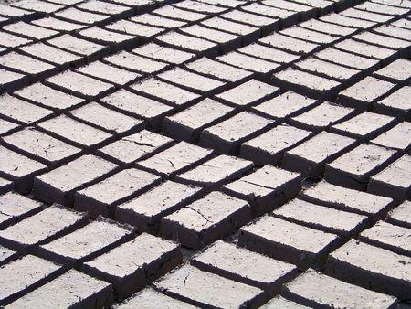 Handmade brick factory Stock Photo - 6115553