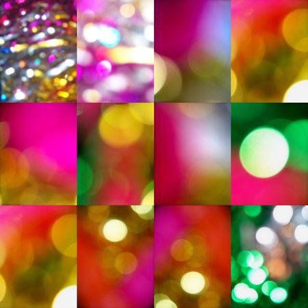 Christmas lights backgrounds  Stock Photo - 7371094
