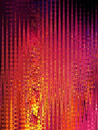 Arrière-plan de lignes colorées psychédélique  Banque d'images - 7408686