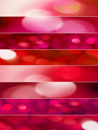 Red bright spots banners backgrounds  Stock Photo