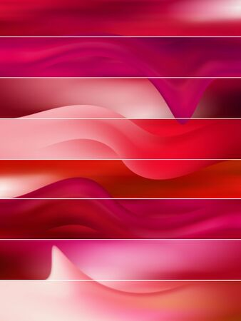 Red blurs and curves, banner background Stock Photo - 8245775
