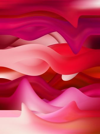 Artistic red sensual tongues background Stock Photo