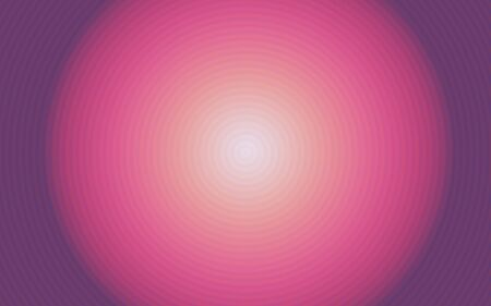 Background of a luminous pink ball with circles photo