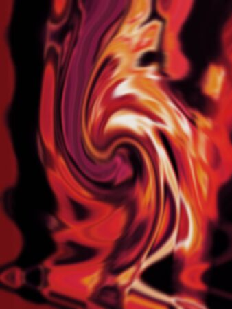 Abstract fire flames background photo