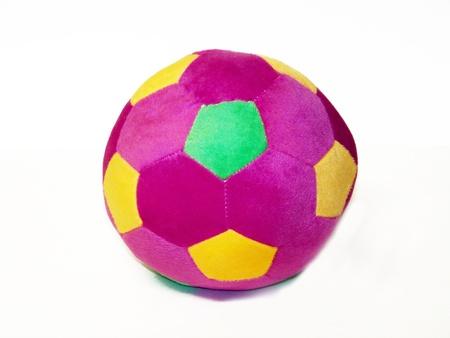 Colorful fabric ball photo