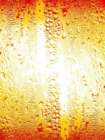 condensación: Naranja refresco gotas papel tapiz de fondo de textura