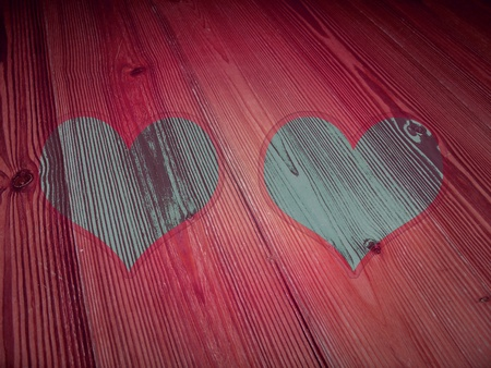 pic  picture: Pink background for two love photos Stock Photo