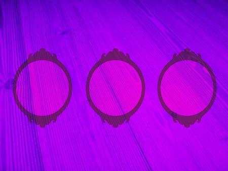 Ethereal magical violet circular frames Stock Photo - 11938564