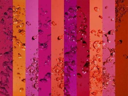 Red, redish, background, banner, lines, water, liquid