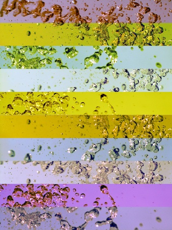Colors, backgrounds, aurasoma, aura-soma, aura soma Stock Photo