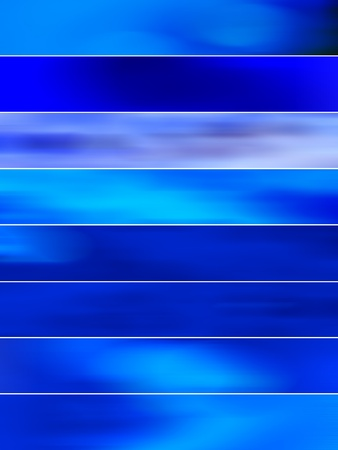 Intense brilliant blue blurred background sequence movement Stock Photo - 11988942