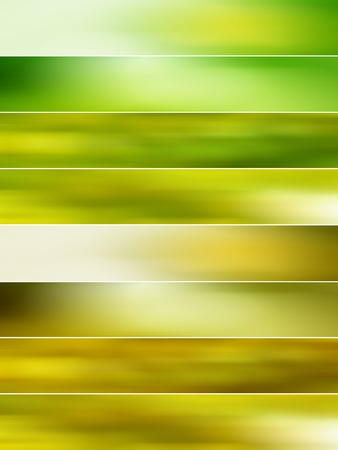 Yellowish green blurs backgrounds for animations Stock Photo - 11988944