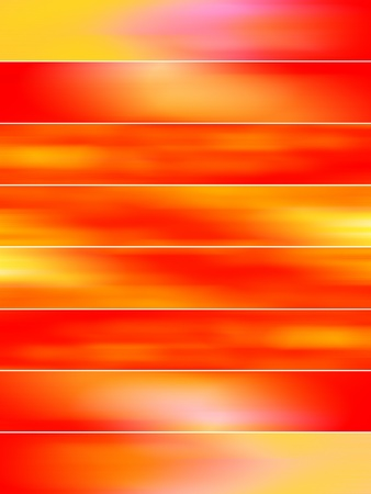 Abstract redish orange blured banners backdrops photo