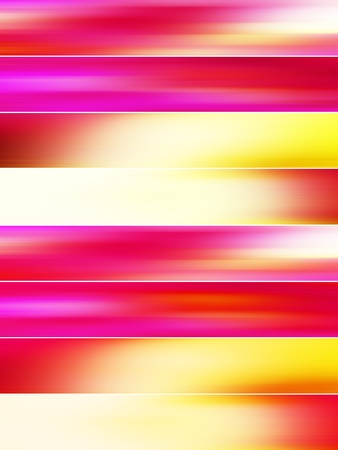Intense banners backgrounds with sunset colors mists photo