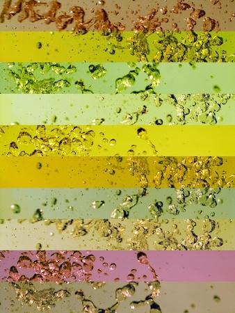 transmute: Sober fondos multicolores banderas verdes con agua splashs