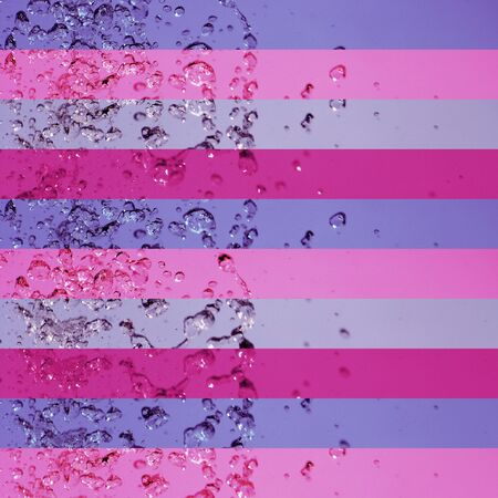 solarizing: Pinks and violets in a lined femenine background pattern