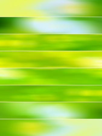 Vert clair arrière-plans flous avec le mouvement pour les animations Banque d'images - 12019652