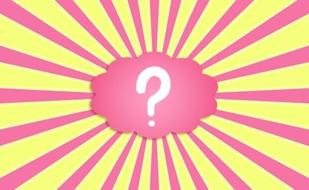 magentas: Questioning, asking, demanding, questionmark