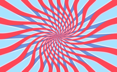 spiralized: Northamerican july party radial background