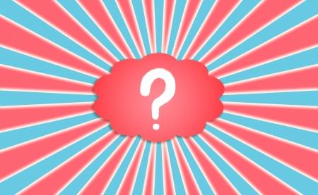 Questions et réponses dans un fond patriotique northamerican États-Unis