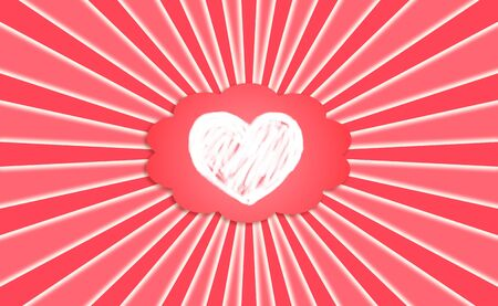 Love shines romantic abstract valentines background photo